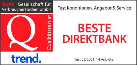 Beste Direktbank 2021